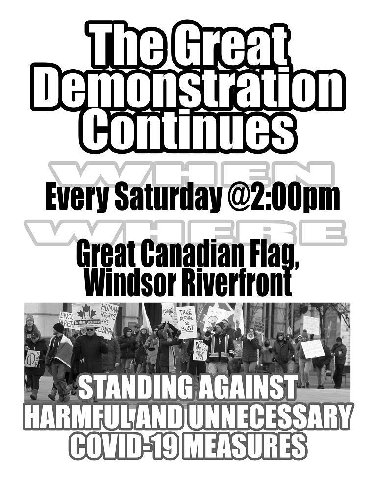 Windsor Great Demonstration Continues