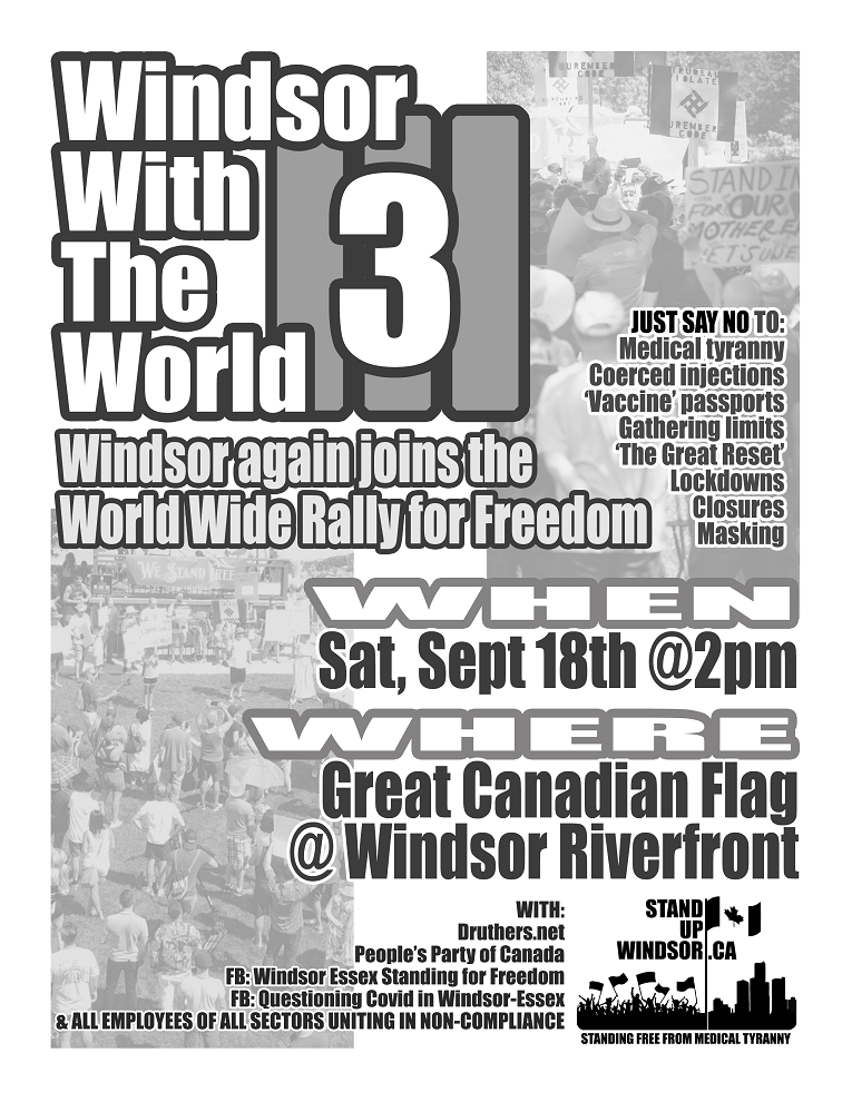 Windsor With the World Wide Rally for Freedom
